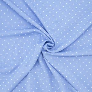 Ткань на отрез супер софт 1604 Пшено цвет голубой