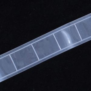 Тесьма светоотражающая 25мм белая уп 5 м