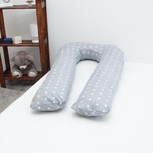Подушка для беременных U-образная 1700/17 цвет серый