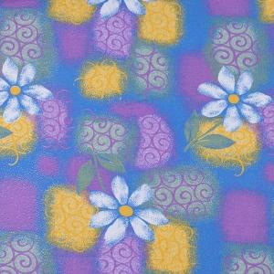 Ткань на отрез фланель 80 см 20051 Ромашки