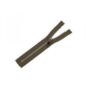 Молния металл №5ТТ никель н/р 18см D565 хаки