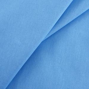 Бязь гладкокрашеная 120гр/м2 150 см ТД цвет голубой