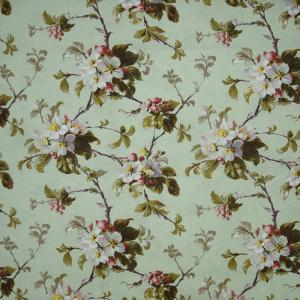 Ткань на отрез рогожка 150 см 18715/3 цвет зеленый
