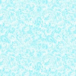 Ткань на отрез Тик 150 см 170 гр/м2 5337-1 Кружево цвет голубой