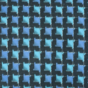 Ткань на отрез фланель 80 см 20103 Клетка цвет синий