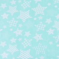 Ткань на отрез бязь плательная 150 см 1683/16 цвет мята