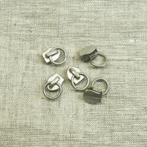 Бегунок спираль №5 С5-1043 никель сумка