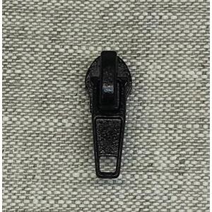 Бегунок спираль №7 крашеный черный авт №322