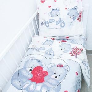 Постельное белье в детскую кроватку рис 10 ГОСТ