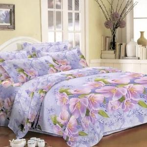 Комплект постельного белья полиэстер JH3979 1.5 сп