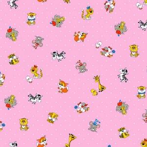 Бязь ГОСТ детская 150 см 1408/4 цвет розовый