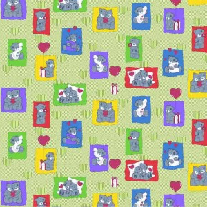 Бязь ГОСТ детская 150 см 1469/2 цвет зеленый