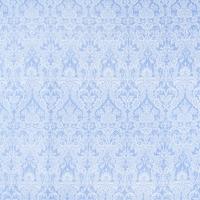 Ткань на отрез бязь плательная 150 см 402/3 Дамаск цвет голубой