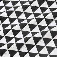 Ткань на отрез бязь плательная 150 см 1773/25 цвет черный