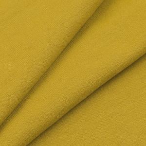 Ткань на отрез футер петля с лайкрой цвет Горчичный 01