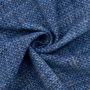 Ткань на отрез рогожка 150 см 35007/2 Пестроткань цвет синий