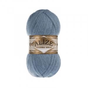 Пряжа ALIZE ANGORA GOLD 665-светлый джинс (20% шерсть 80% акрил)