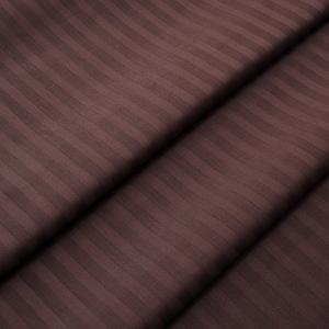 Страйп сатин полоса 1х1 см 220 см 135 гр/м2 цвет 896 шоколадный