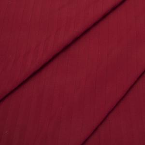 Страйп сатин полоса 1х1 см 220 см 135 гр/м2 цвет 066 бордовый