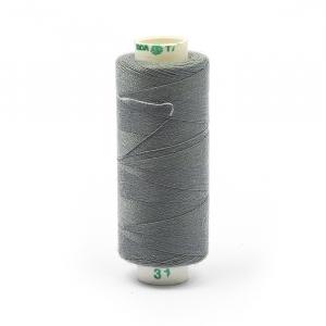 Нитки бытовые Dor Tak 40/2 366м 100% п/э, цв.319 серый