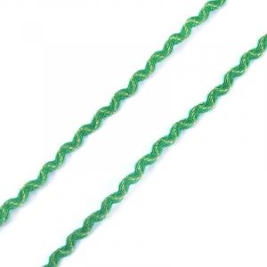 Тесьма плетеная вьюнчик С-3015 (3584) г17 уп 20 м ширина 7 мм (5 мм) цвет 013