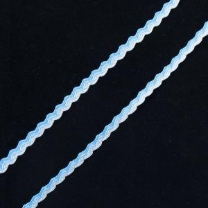 Тесьма плетеная вьюнчик С-3726 (3582) г17 уп 20 м ширина 7 мм (5 мм) рис 9253 цвет 002