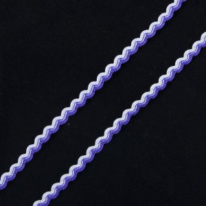 Тесьма плетеная вьюнчик С-3726 (3582) г17 уп 20 м ширина 7 мм (5 мм) рис 9253 цвет 004