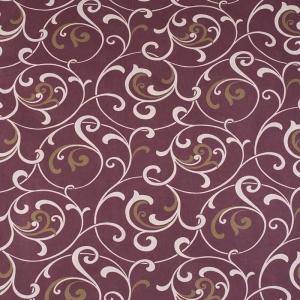 Ткань на отрез бязь 120 гр/м2 220 см 19605/1 Вензель цвет коричневый