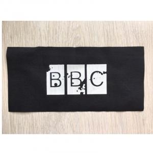 Нашивка BBC 11*23 см