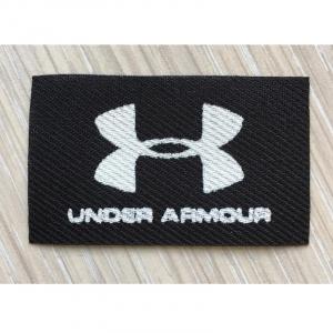 Нашивка Under Armour черная 3*5см