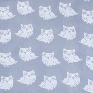 Ткань на отрез бязь плательная 150 см 1682/17 цвет серый