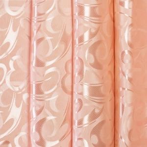 Портьерная ткань 150 см на отрез 12 цвет персиковый