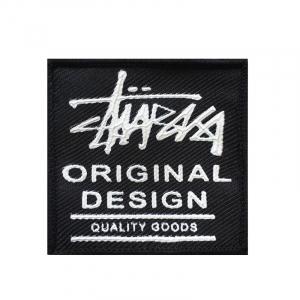Нашивка Original Design черная 5.5*5.5 см