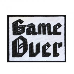 Нашивка Game Ouer 7*9см