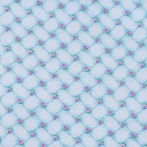 Ткань на отрез фланель 80 см 20020 Цветочный дамаск