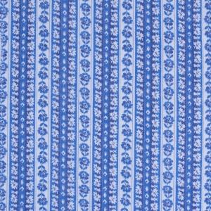 Ткань на отрез фланель 80 см 23052 Цветочная полоса