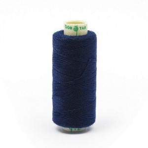 Нитки бытовые Dor Tak 20/3 джинсовые 183м 100% п/э, цв.412