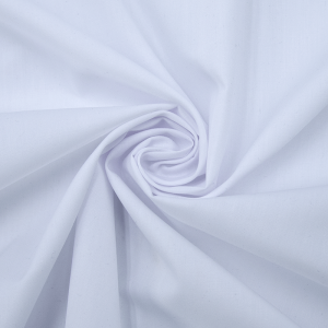 Рубашечная ткань на отрез 150 см цвет белый