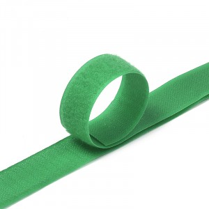 Лента-липучка 25 мм 25 м цвет F258 зеленый