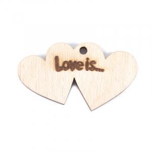 Фигурка из дерева Love is