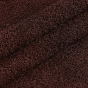 Махровая ткань 220 см 430гр/м2 цвет темно-коричневый