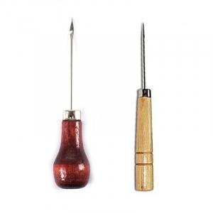 Шило деревянная ручка с крючком 12см МС-115