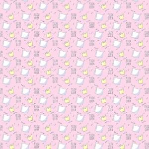 Поплин 150 см 1982/3 Королевские подушки цвет розовый