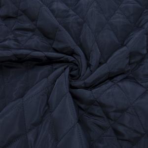 Курточная ткань на отрез цвет темно-синий