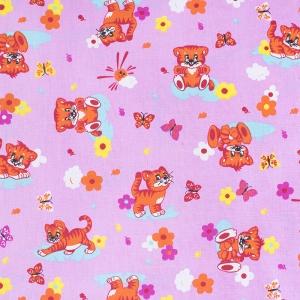 Ткань на отрез бязь ГОСТ детская 150 см 1631/3 цвет розовый
