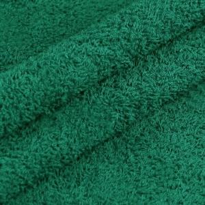 Махровая ткань 220 см 430гр/м2 цвет темно-зеленый