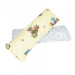 Подушка-валик чехол полиэстер 38/90 см