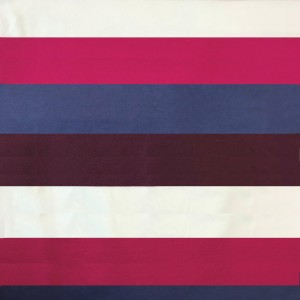 Ткань на отрез пике №1 Полоса бордо