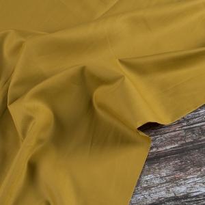 Ткань на отрез сатин гладкокрашеный 245 см 213KL-949 цвет горчица