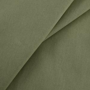 Ткань на отрез бязь гладкокрашеная 120 гр/м2 150 см цвет олива 02